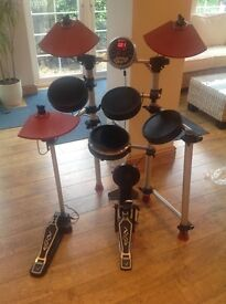 ROCKBURN DTX 50 ELECTRIC DRUM KIT The DTX-50 electronic drum kit