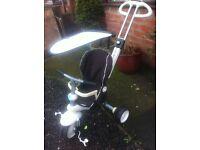 Kiddies pushchair/bike