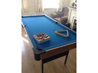 Pool Table (folds up)