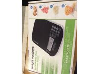 Weight watchers smart point scales.