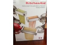 Kitchen aid Pasta sheet roller and cutter set