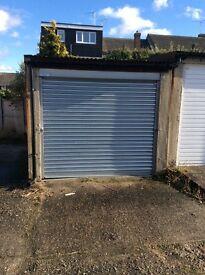 Lockup garage to let in Chelmsford. Roller shutter door.