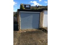 Lockup garage to let in Chelmsford. Roller shutter door.