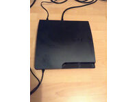 Sony PlayStation 3 Console Slim Black With 4 Games (NO Controller/Leads)