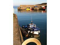 Plymouth pilot 18' fishing boat