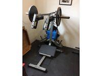 Body solid leverage squat machine