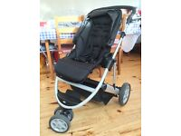 Mamas and Papas Zoom travel system with Cybex Aton car seat