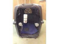 Extra large IATA approved dog crate for international travel