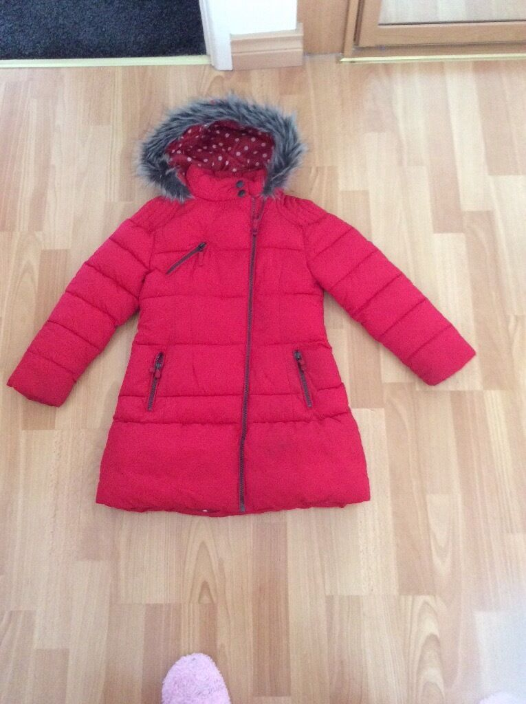 f9140157382f NEXT Girls Coat Age 7 8