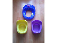 Potty Training Bundle 2 Potties and Toilet Seat Excellent Condition Morden SM4 Near Tube
