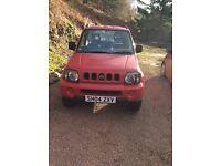 Genuine Low mileage Suzuki Jimny 1.3 JLX first registered 2004