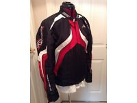 RST Motorcycle jacket, red/black