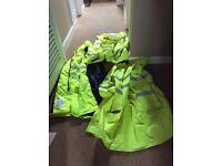 High vis coats and vests