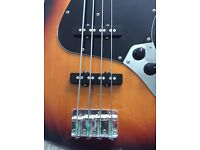 Fender Squier Silver Series Jazz Bass, Made in Japan 1993/1994. Fantastic used condition.