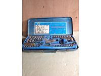 """A 'King Sonic' 1/4"""" and 3/8"""" Drive Socket Set"""