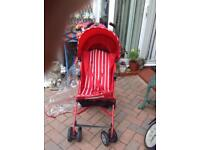 Mothercare baby stroller with covers .