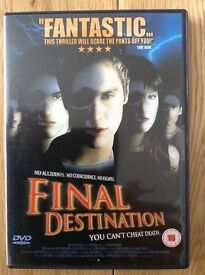 Final Destination dvd