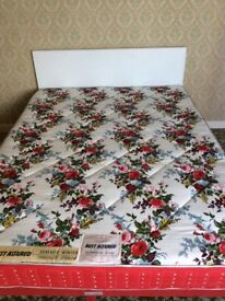 Vintage 1966 Double Rest Assured Divan Bed in excellent condition for display or prop.