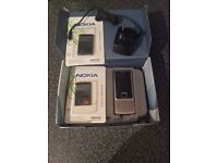 ** NOKIA 6300 comes with 2 BATTERYS CHARGER AND ORIGINAL BOX ITS ON VODAFONE £25 ono