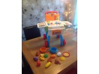 VTECH DISCOVERY SHOP & COOK INTERACTIVE PLAYSET KITCHEN