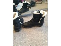 Genuine black ugg boots
