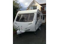 Sterling Eccles Ruby Caravan 2009 Fixed Bed End Bathroom four berth. Excellent Condition.