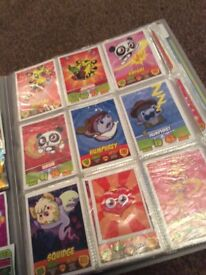 100+ Moshi Monster trading cards