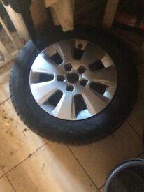 Set 4 Audi aloys tiyers new shap