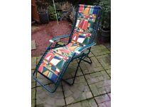 Deck Chair, recliner. Good condition