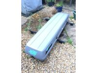 Car Roof Box for sale - Hifly Roofbag 300 model. Can hold 5 pairs of skis plus extras.