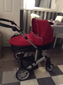 Mamas & Papas Pliko 2 in 1 Pram/buggy in new condition with accessories
