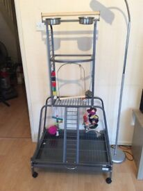 Liberta play stand for parrots