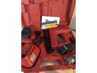 TACWISE RANGER 40 DUO NAIL STAPLE GUN 18v cordless kit + Extras
