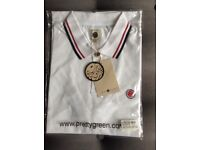 Mens Pretty Green polo shirt size L brand new with tags