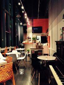 Evening barista bar staff needed