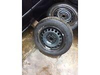 Audi Volkswagen seat rims tyres
