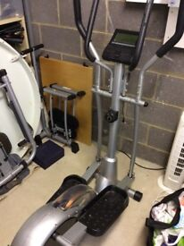 Joblot fitness equipment cross trainer/ leg trainer/ rowing machine great condition