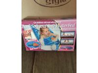 Bath safe and soft waterbed(brand new in box)