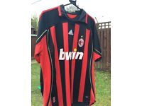 AC Milan football shirt
