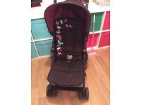 Silver cross butterfly pop stroller