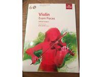 ABRSM grade 6 violin book brand new