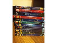 11 Disney DVDs - £25 for all - reduced