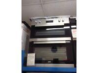 Beko built under double fan oven. £259 new/graded 12 month Gtee