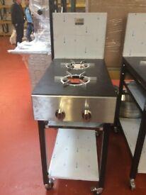 Cooker Gas 2 burner / Restaurant / Fast Food / Kitchen