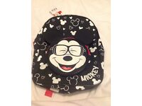 M&S Mickey Mouse Backpack & Lunch Bag (new with tags)