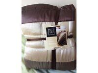 Brand New TU Throw / Bedspread