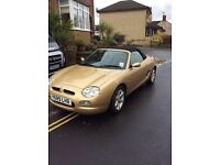 Rover mgf for sale. Semi automatic, Gold. Very good condition.