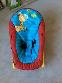 Baby bouncer chair Excellent condition Used at Grandparents home Non smoking pet free home