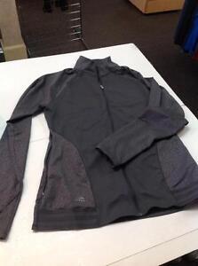 Adidas mid layer full zip- Men's M- grey (sku: Z14973)