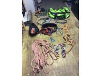 Tree surgeons climbing kit, Stihl, etc